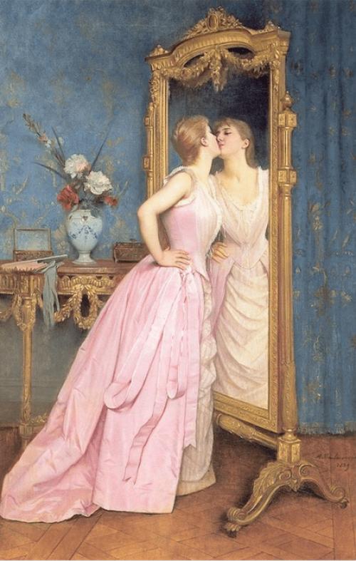 Auguste Toulmouche. Vanity. 1889.