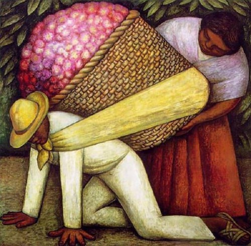 Diego Rivera. The Flower Carrier. 1935.