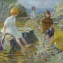 Dorothea Sharp. The cup and saucer pool.