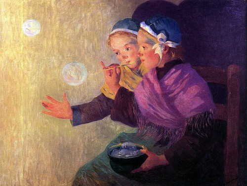 Ferdinand du Puigaudeau. Soap Bubbles. 1895