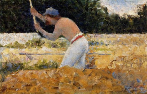 Georges Seurat. The stone breaker II. 1882-1883