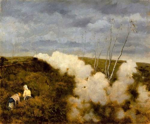 Giuseppe De Nittis. The train passes. Musée des Beaux-Arts-Paris.