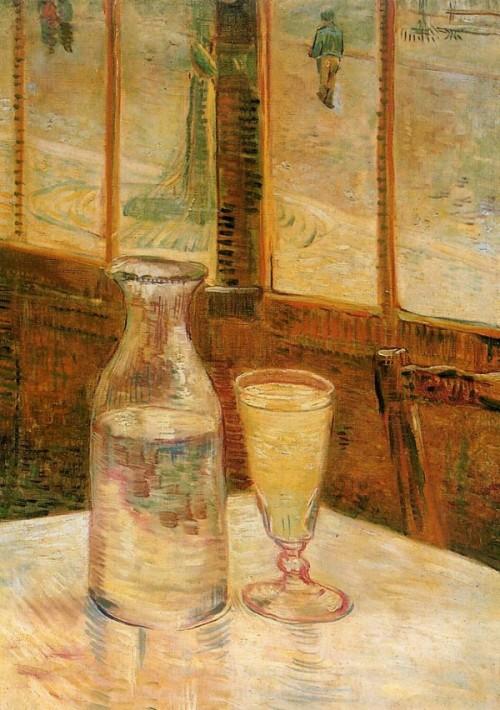 Gogh, Vincent Willem van. Still Life with Absinthe. 1887, Van Gogh Museum, Amsterdam.