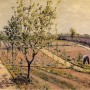 Gustave Caillebotte. Kitchen Garden Petit Gennevilliers. 1882. Oil on canvas. Private collection.