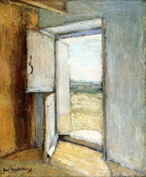 Henri Matisse. Open Door, Brittany. 1896