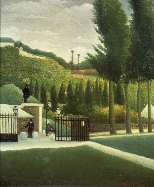 Henri Rousseau. The Customs Post. 1890
