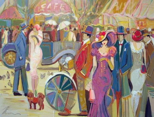 Isaac Maimon. Le parigine al Café de la Gare
