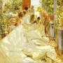 Joaquín Sorolla y Bastida. Sewing the Sail. 1896. Oil on Canvas. Museo d`Arte Moderna di Ca`Pesaro