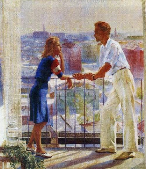 Вильямс, Петр Владимирович (1902−1947). Весна