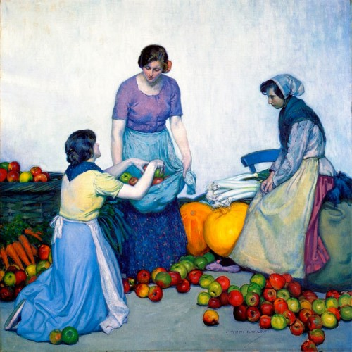 Myron G. Barlow (1873-1937). Apples. 1914. Detroit Institute of Arts Museum.
