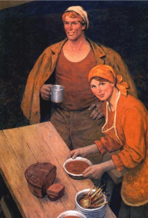 Лихачев Михаил Иванович. На Черноземье. 1979 г.
