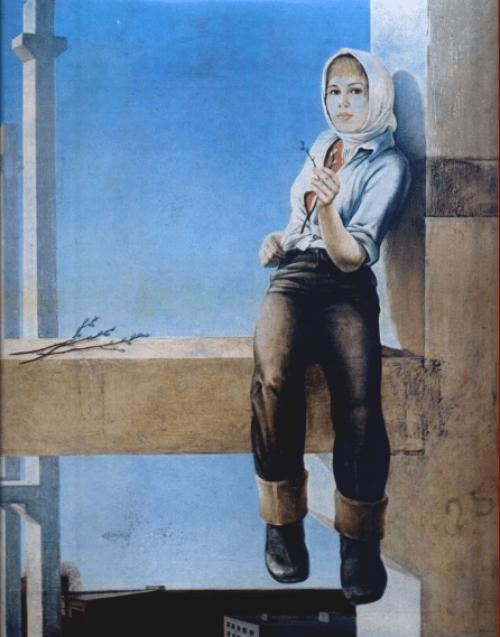 Крыжевский, Ян Юлианович. Новый день. 1976 г.