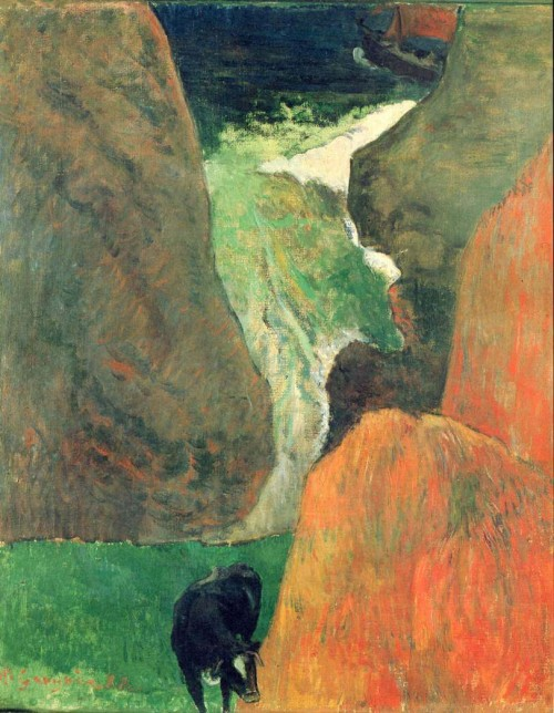 Paul Gauguin. Above the abyss