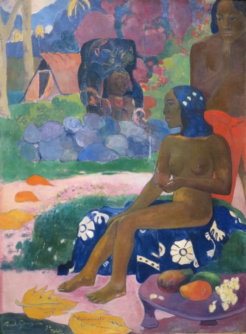 Paul Gauguin. Ihr Name ist Vairaumati. 1892
