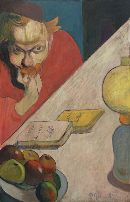 Paul Gauguin. Portrait of Jacob Meyer de Haan. 1889. Museum of Modern Art, New York