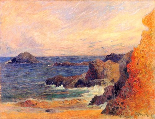 Paul Gauguin. Rocky Coast. 1886. Gothenburg Museum of Art.