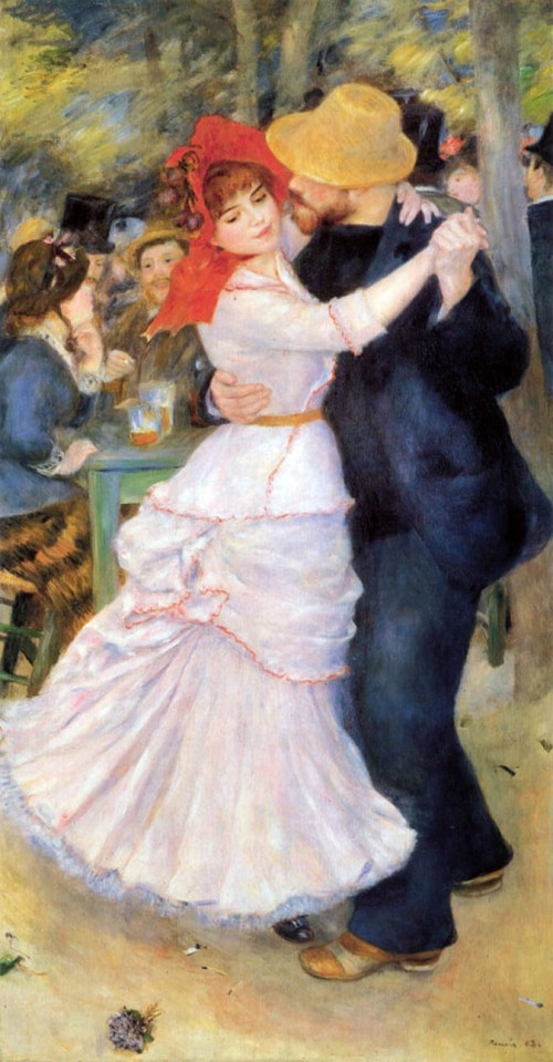 Pierre-Auguste Renoir. Dance at Bougival. 1883. Museum of Fine Arts Boston.