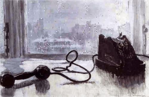 Пименов Юрий Иванович. Ожидание. 1959 г.