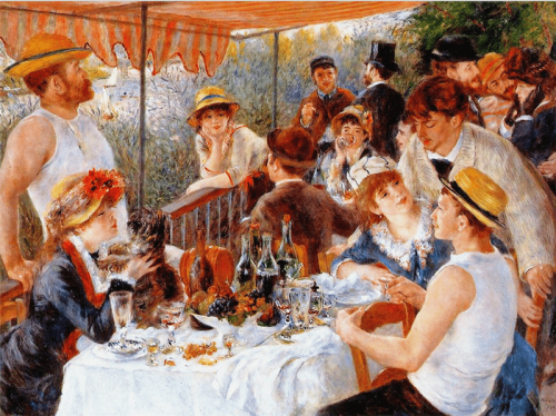 Ренуар, Питер-Огюст. Завтрак гребцов. 1881 г.