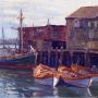 Theodore Robinson (1852-1896). Gloucester Harbor