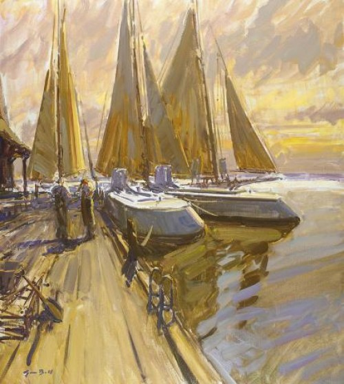 Tim Bell. Miles River Morn