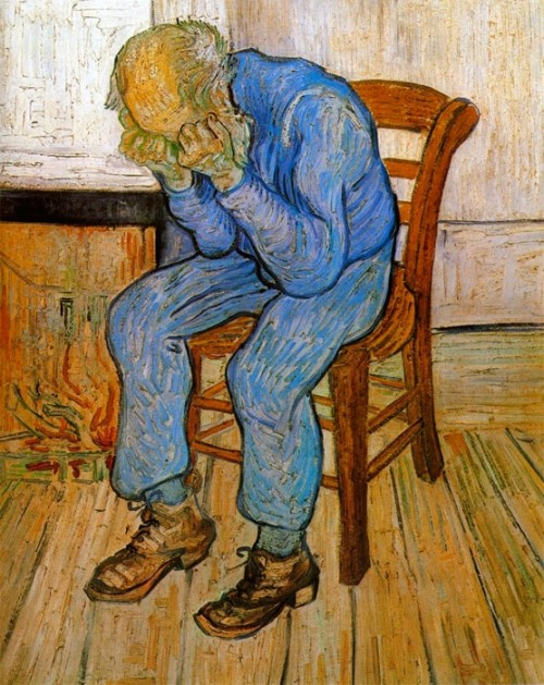 Vincent van Gogh. Sorrowful Old Man (also known as At Eternity's Gate). 1888. Kröller-Müller Museum.