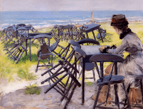 William Merritt Chase. End of the season Sun